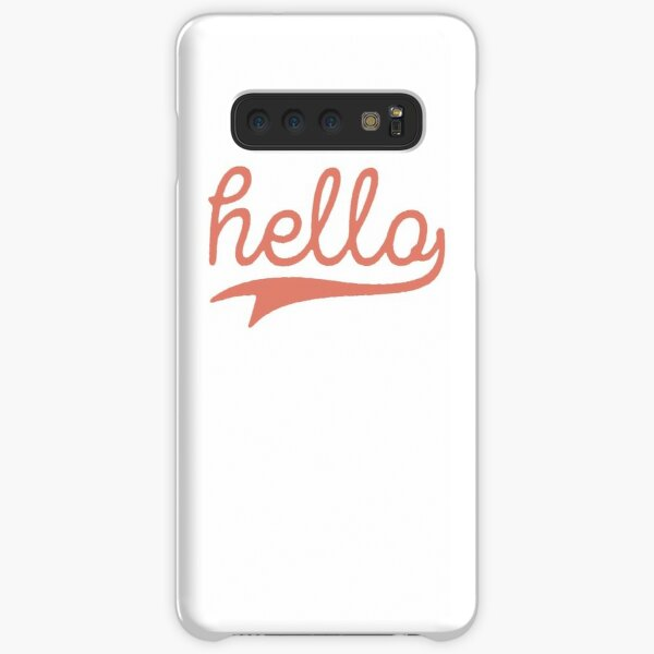 Hello Samsung Galaxy Snap Case