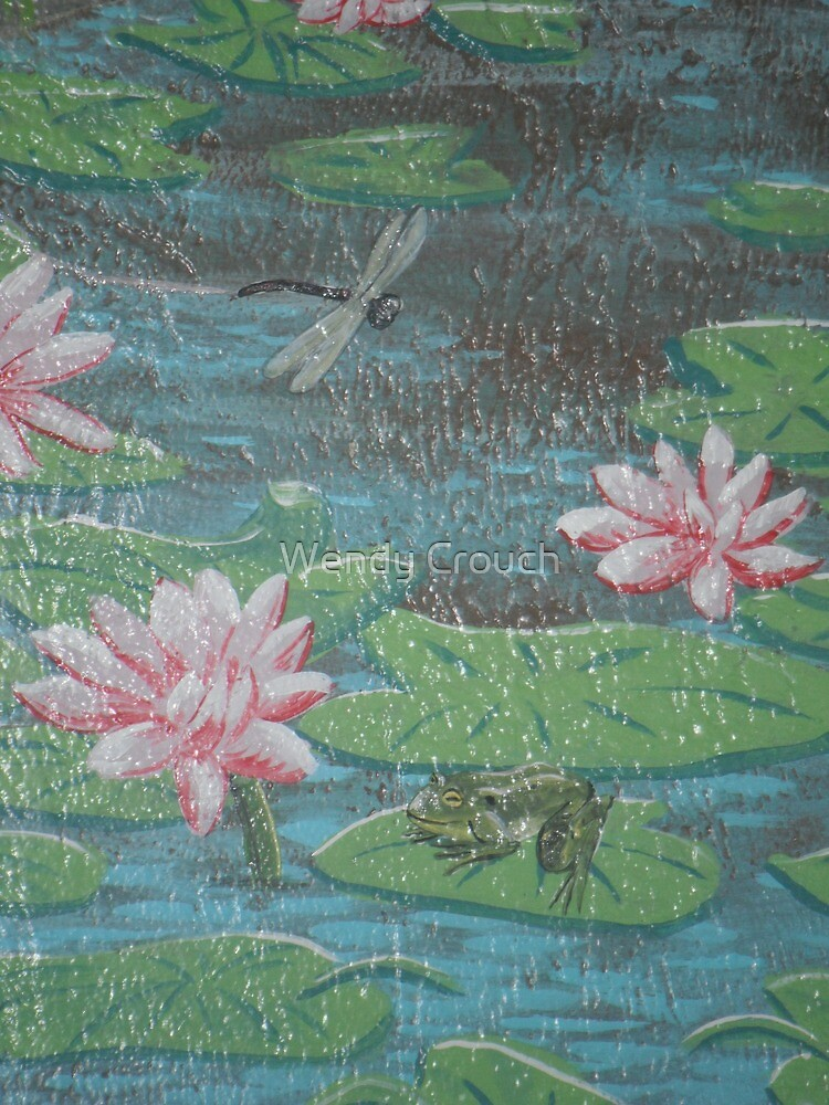 Frog and Dragonfly by Wendy Crouch