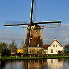 Windmill in Holland by Hans Kool