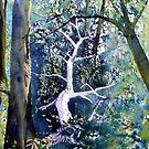 Forest Lessened - Fallen Tree by Glenn Marshall