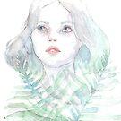 « Portrait à l'aquarelle » par Threeleaves