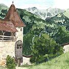 « Paysage de la Gruyère » par Threeleaves