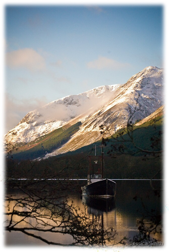 The Old Boat of Loch Lochy by Jessica Smith