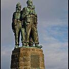 The Commando Memorial at Spean Bridge by Jessica Smith