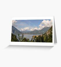 Varenna, Italy Greeting Card