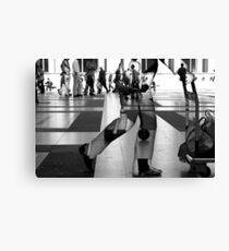 I believe that you was in... Canvas Print