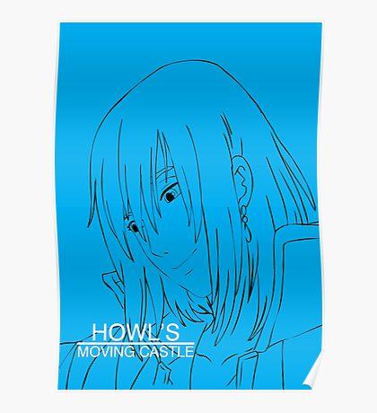 Howl's Moving Castle - Howl Poster