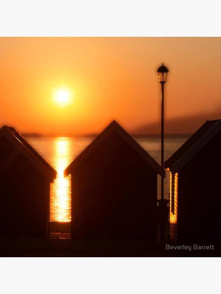 Sunset At Gurnard IOW by bevy05