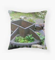 Mill wheel. Throw Pillow