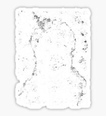 Coiled in Shadows, Distant From Light Sticker