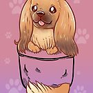 Pocket Cute Pekingese Dog by TechraNova