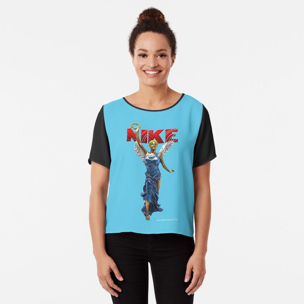 Nike Goddess of Victory Chiffon Top