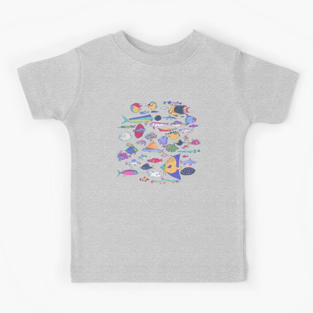 pescado Camiseta para niños