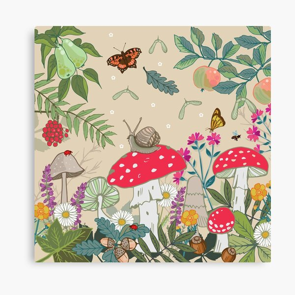 Toadstool Woods Canvas Print