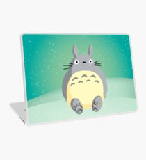 Totoro in the Snow Laptop Skin