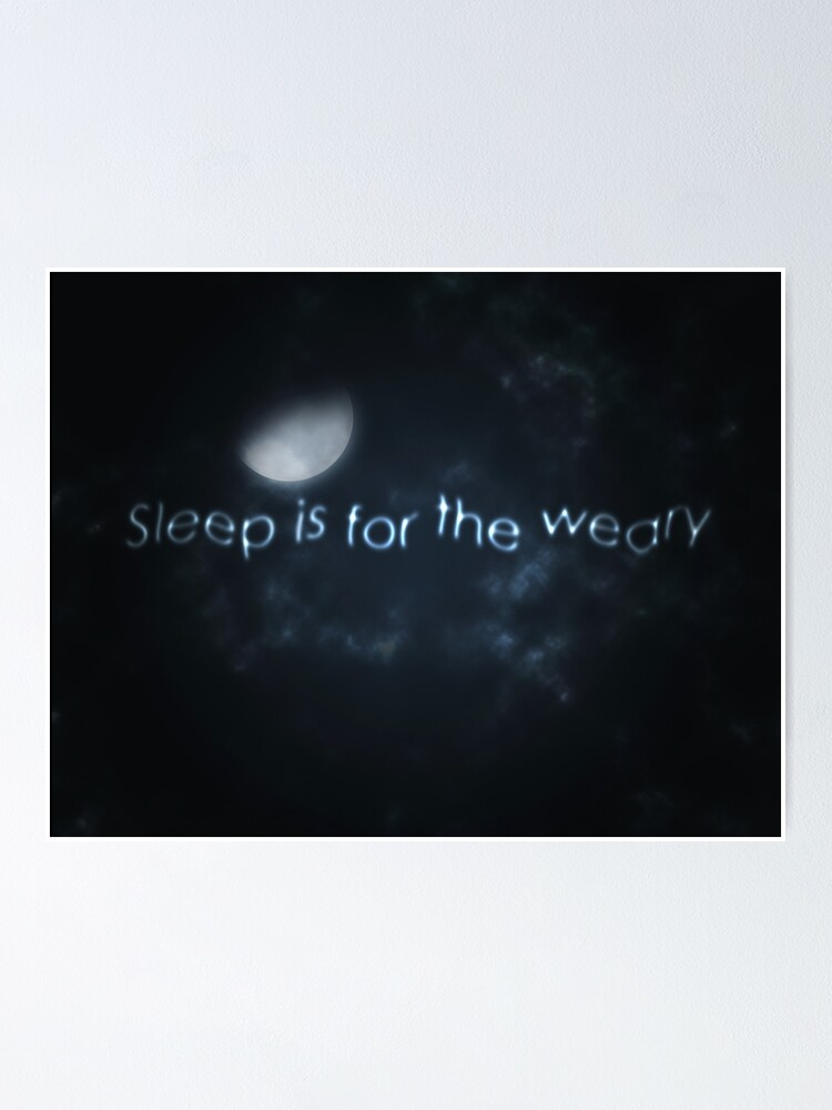 night sky moon drawing quotes sayings poster by