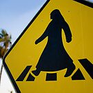 Safe to cross the road? by Leigh Evans