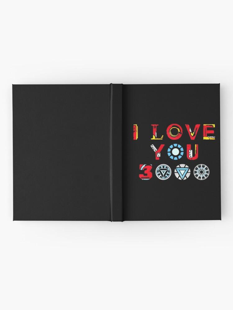 Alternate view of I Love You 3000 v3 Hardcover Journal