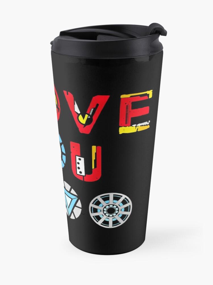 Alternate view of I Love You 3000 v3 Travel Mug
