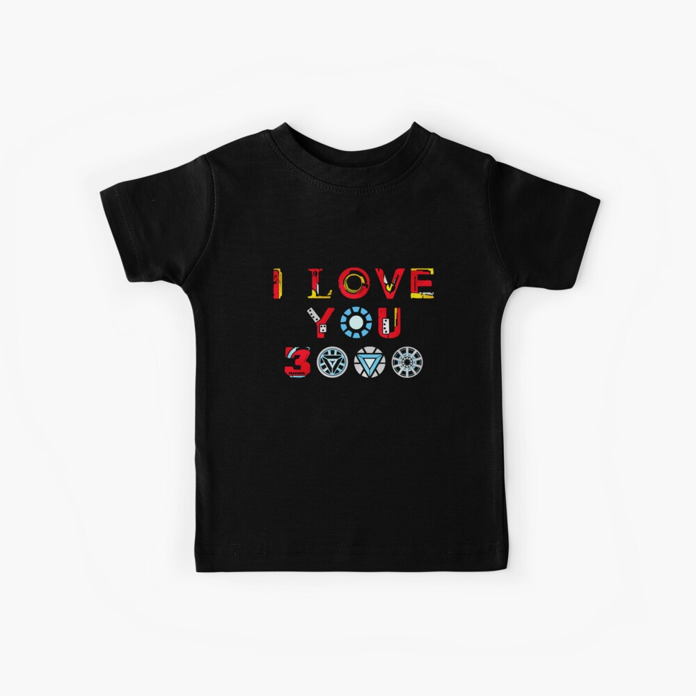 I Love You 3000 v3 Kids T-Shirt