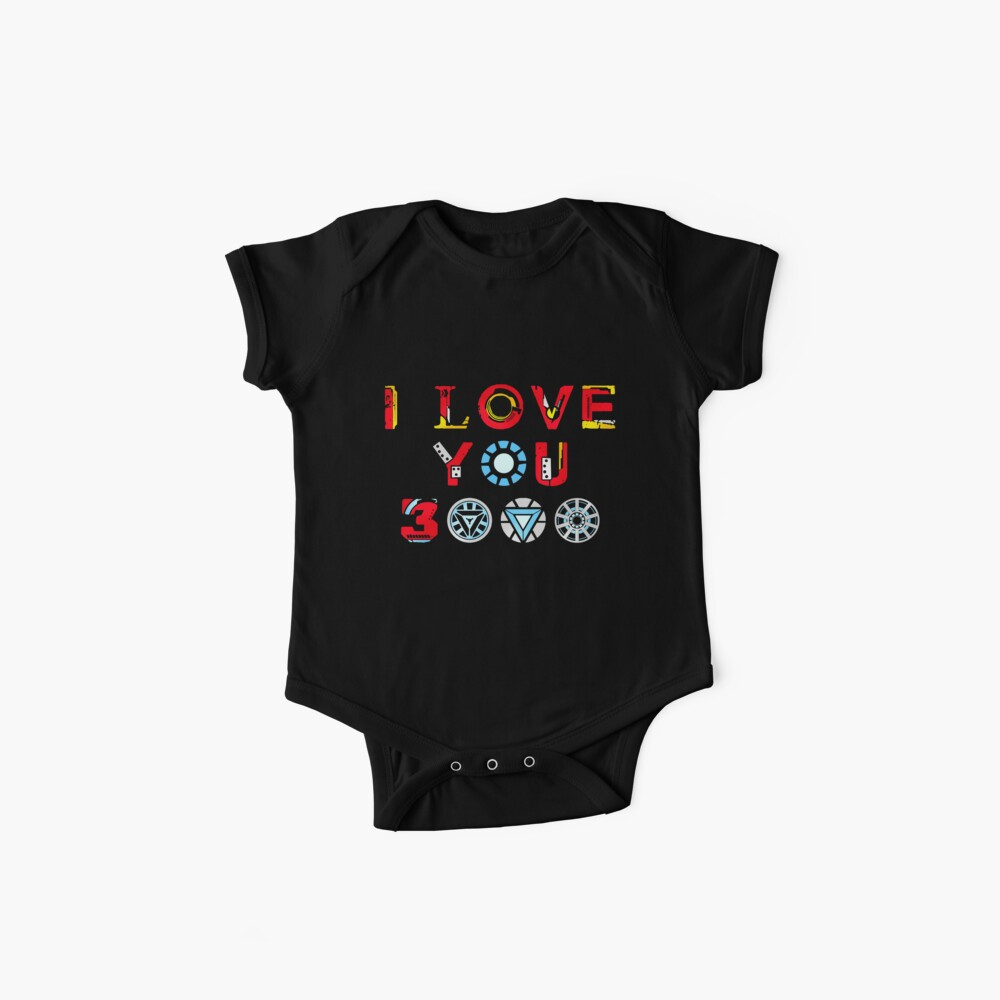 I Love You 3000 v3 Baby One-Pieces