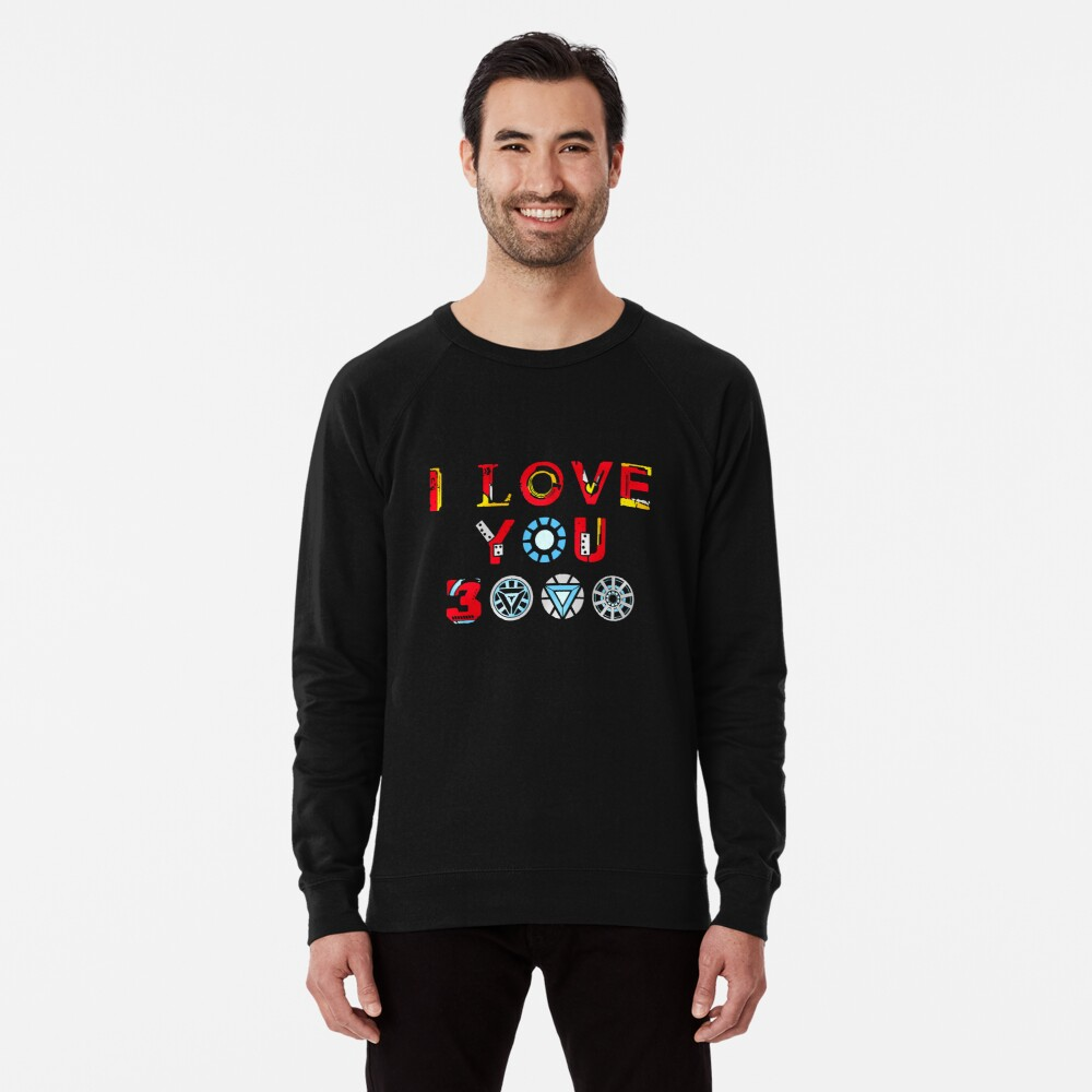 I Love You 3000 v3 Lightweight Sweatshirt