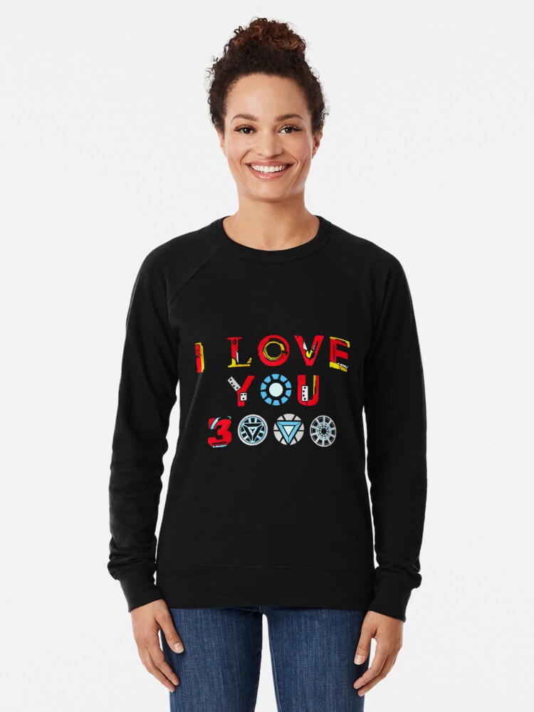 Alternate view of I Love You 3000 v3 Lightweight Sweatshirt