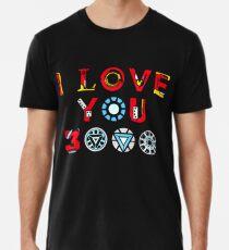 Ich liebe dich 3000 v3 Premium T-Shirt