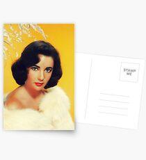 Elizabeth Taylor, Filmstar Postkarten