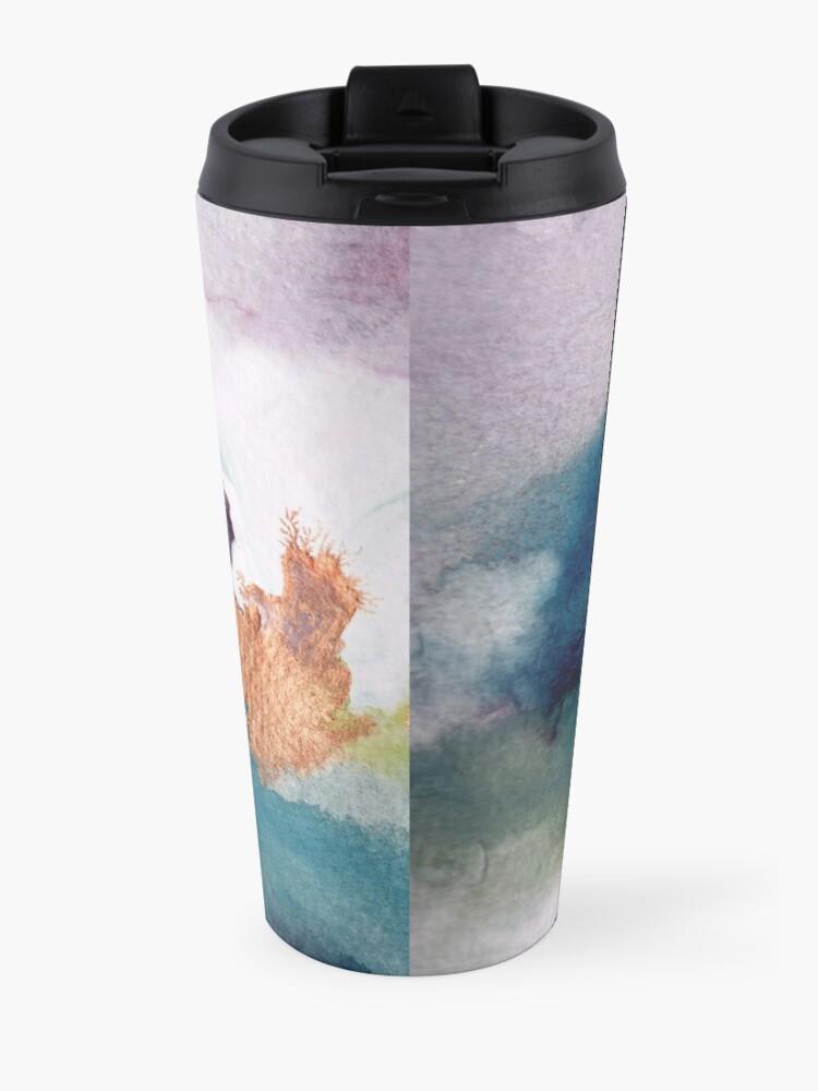 Alternate view of Abstract Birth Travel Mug