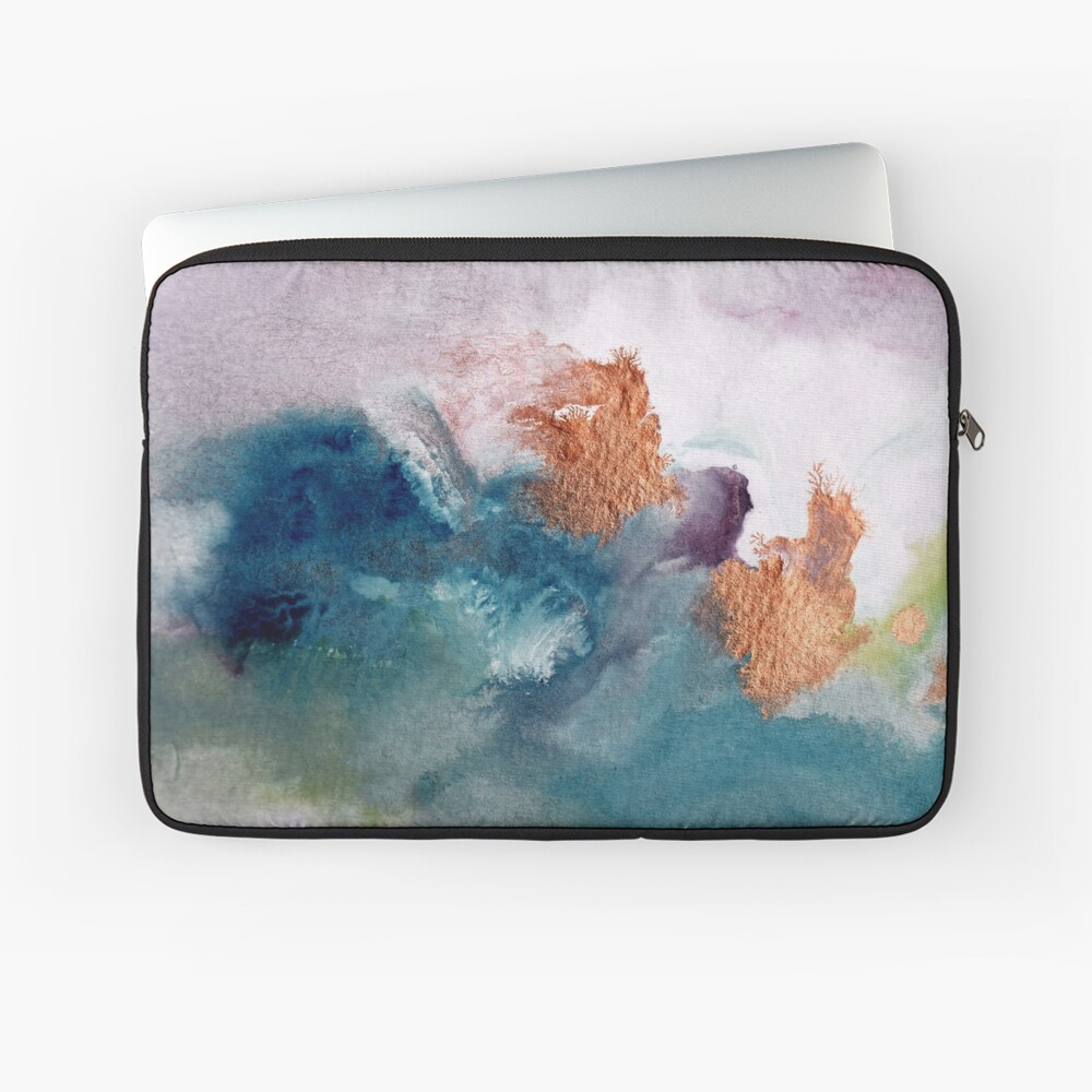 Abstract Birth Laptop Sleeve