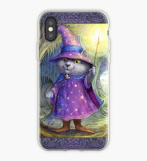 Purlin the Grey - wizard cat iPhone Case