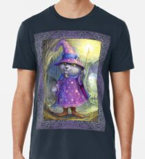 Purlin the Grey - wizard cat Premium T-Shirt