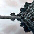 Reflexionen einer sich hin- und herbewegenden Küste von PrintsProject