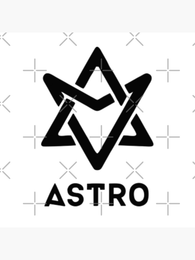astro logo kpop boy group | Photographic Print