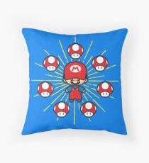 Magic Plumber Throw Pillow