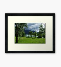 Clouds and Light. Framed Print