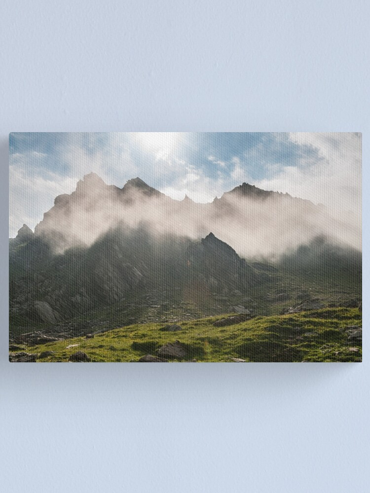 Alternate view of After the rain Canvas Print