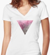 Abstract VIII Women's Fitted V-Neck T-Shirt