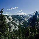 Tenaya Canyon  by Phillip M. Burrow