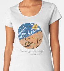 Penultimate Human Constellation - Cover Art Premium Scoop T-Shirt