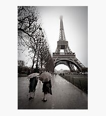 Rainy Saturday Photographic Print