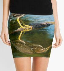 Green Heron Mini Skirt