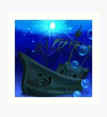 Jolly Roger Bay Art Print