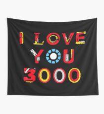 Ich liebe dich 3000 v2 Wandbehang