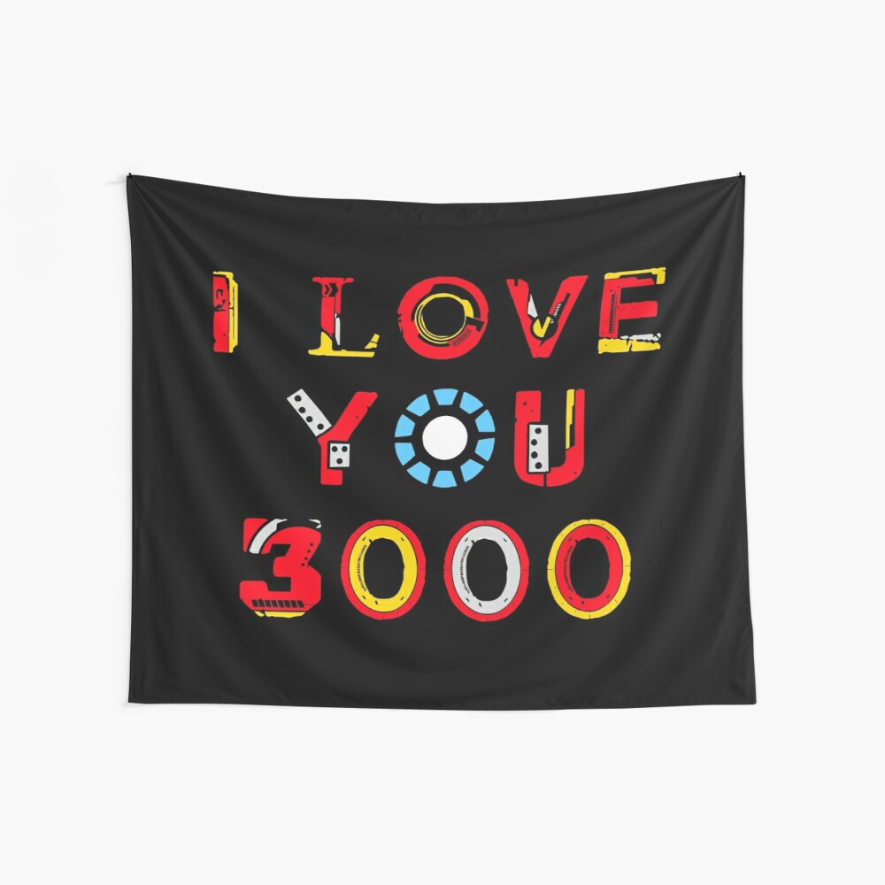 I Love You 3000 v2 Wall Tapestry