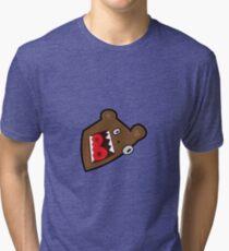 Little Bear Cartoon Tri-blend T-Shirt