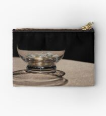 Glass and shadow Zipper Pouch