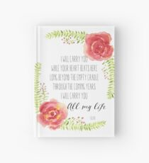 I Will Carry You Hardcover Journal