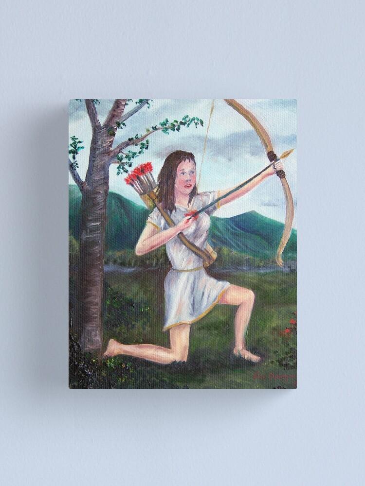 Alternate view of Diana Canvas Print